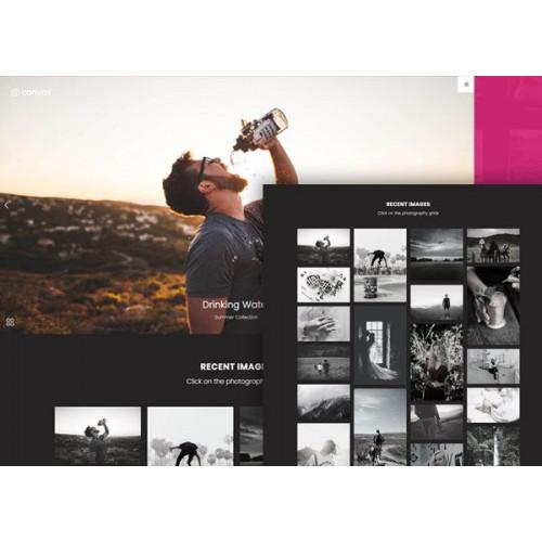 Шаблон сайта компании - Фотограф